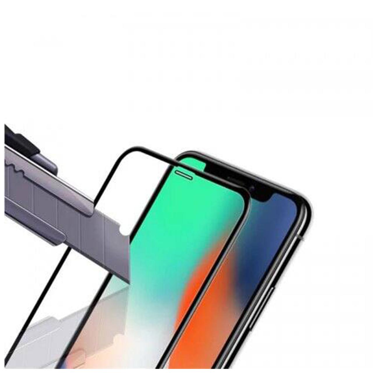 محافظ صفحه نمایش 9D ایبیزا مدل IBI_3 مناسب برای گوشی موبایل اپل Iphone XS بسته سه عددی