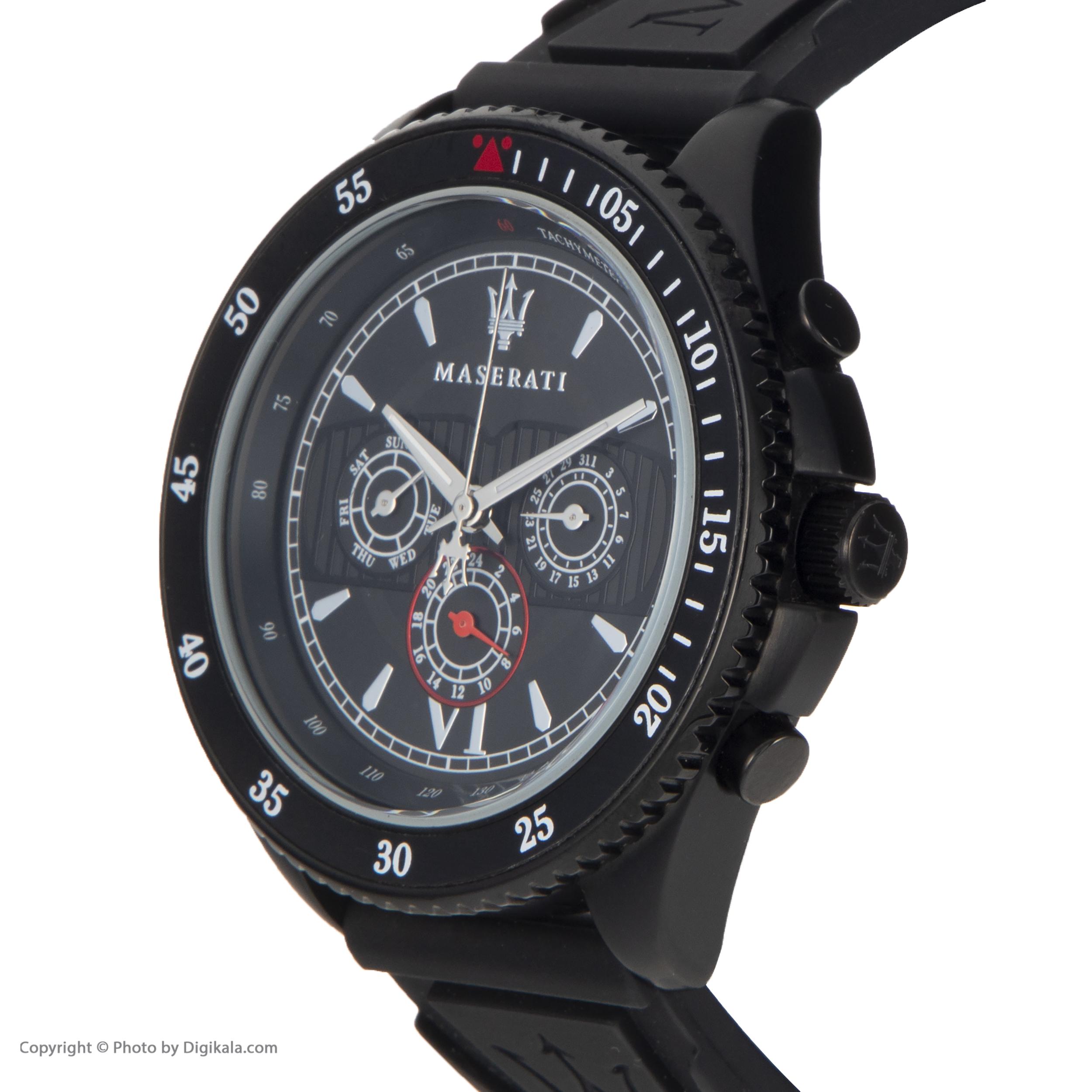 کد تخفیف                                      ساعت مچی عقربه ای مردانه مازراتی مدل R8851101001