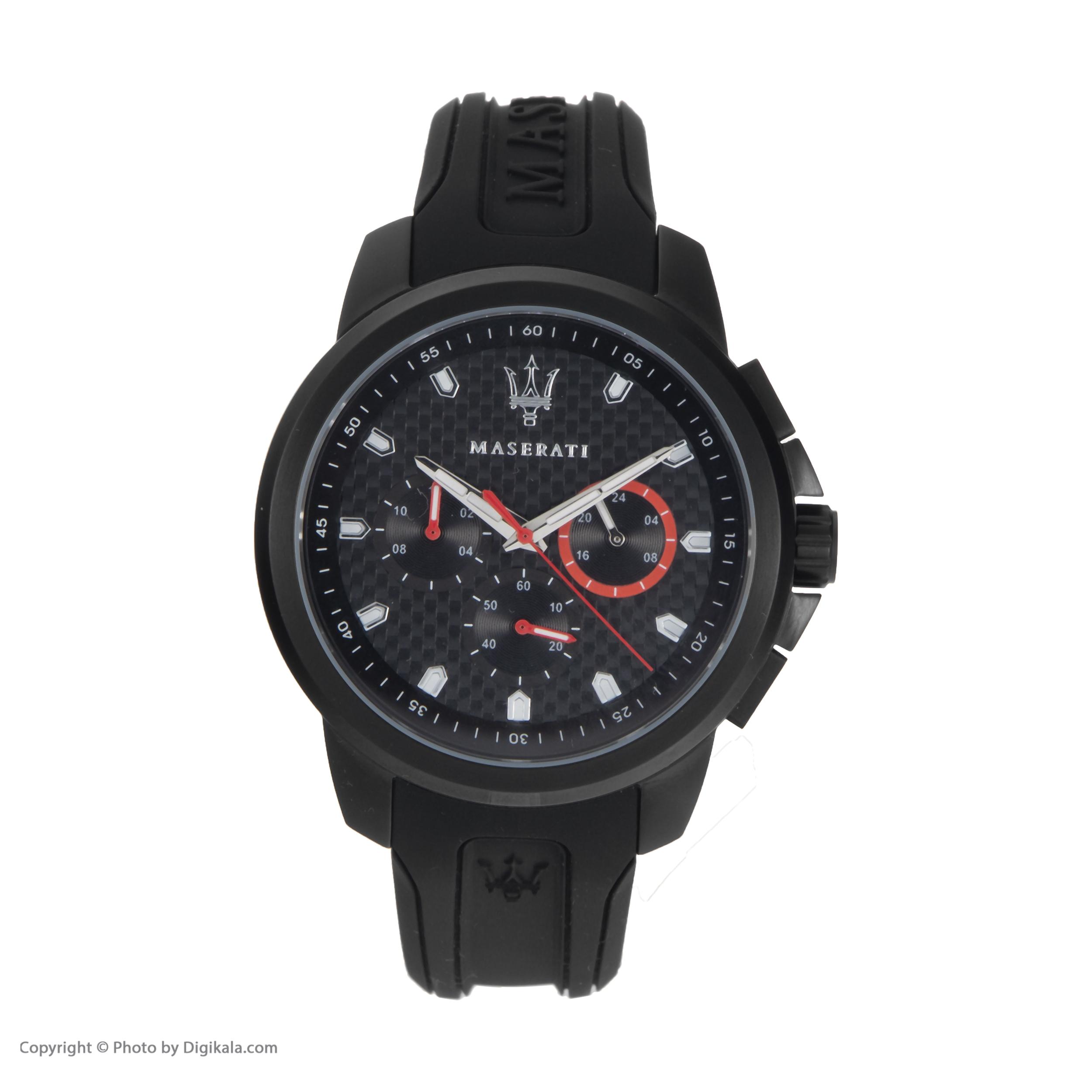 خرید                      ساعت مچی عقربه ای مردانه مازراتی مدل R8851123007
