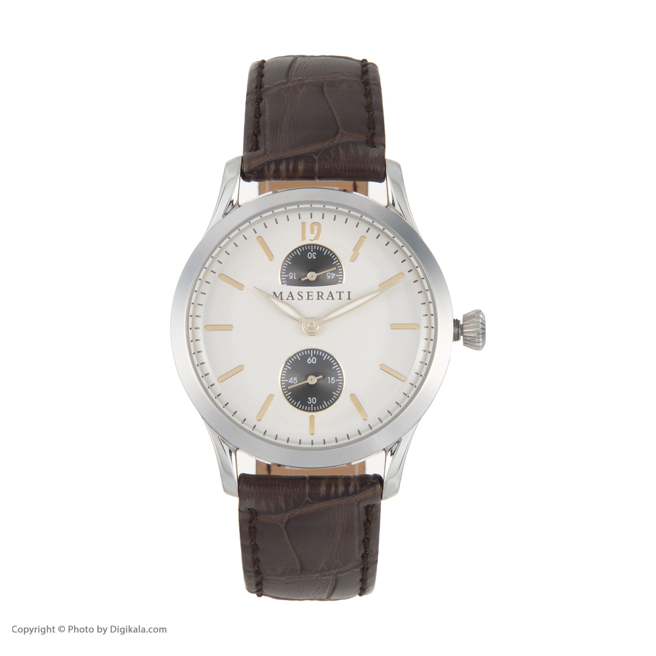 ساعت مچی عقربه ای مردانه مازراتی مدل R8851125002