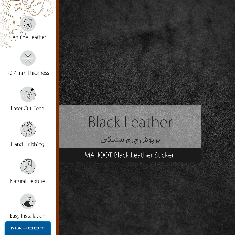 برچسب پوششی ماهوت مدل Black-Leather مناسب برای گوشی موبایل سامسونگ Galaxy S7 Edge