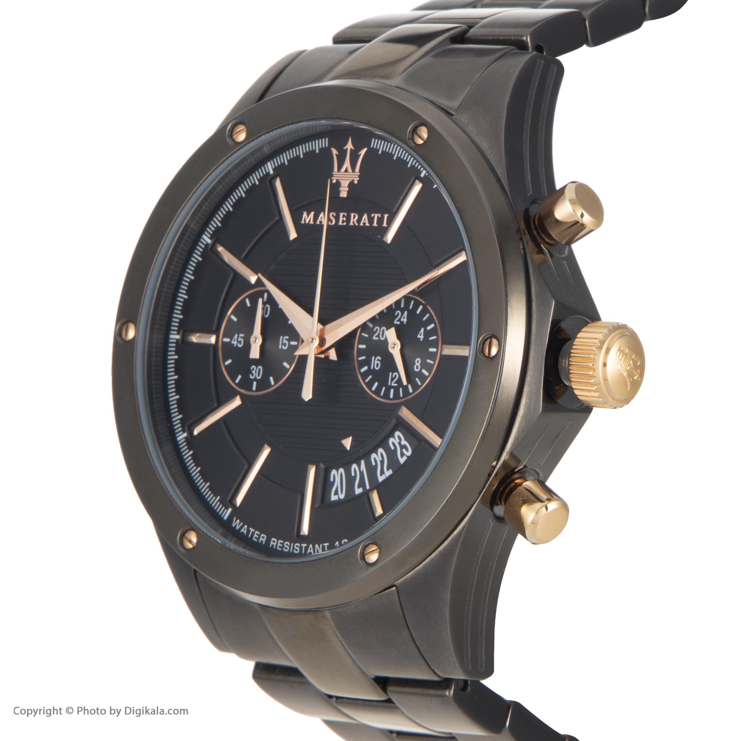 خرید                      ساعت مچی عقربه ای مردانه مازراتی مدل R8873627001