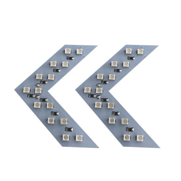 چراغ راهنما آینه ای طرح Arrow کد 5654 بسته 2 عددی