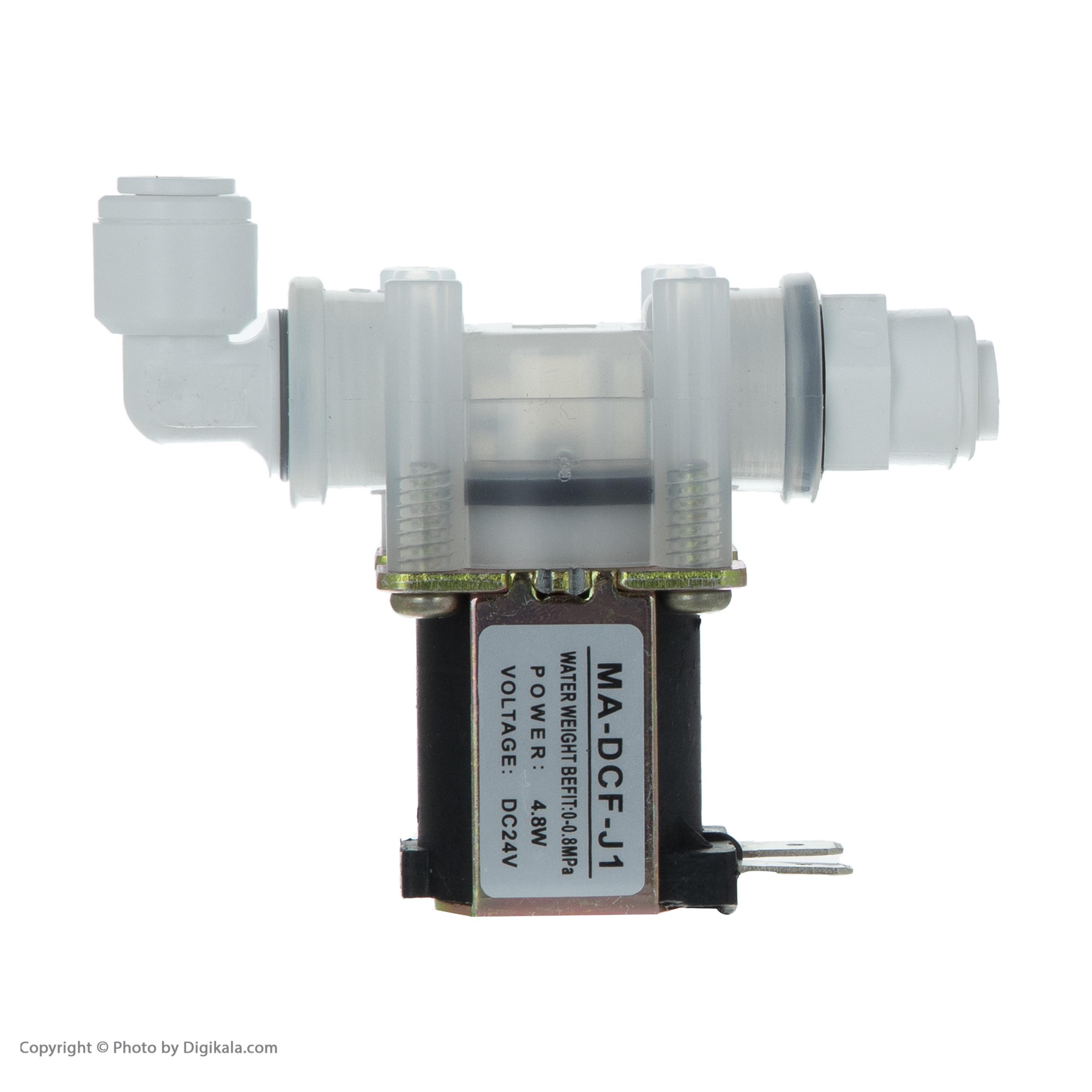 شیر برقی دستگاه تصفیه کننده آب کد MA-DCF-J1