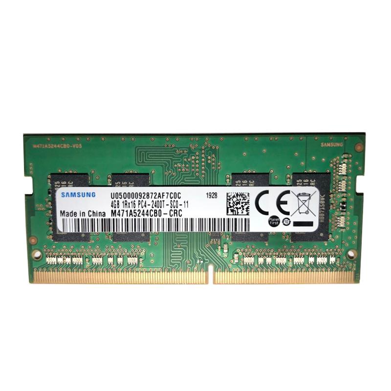رم لپ تاپ DDR4 تک کاناله 2400 مگاهرتز CL19 سامسونگ مدل SODIMM ظرفیت 4 گیگابایت