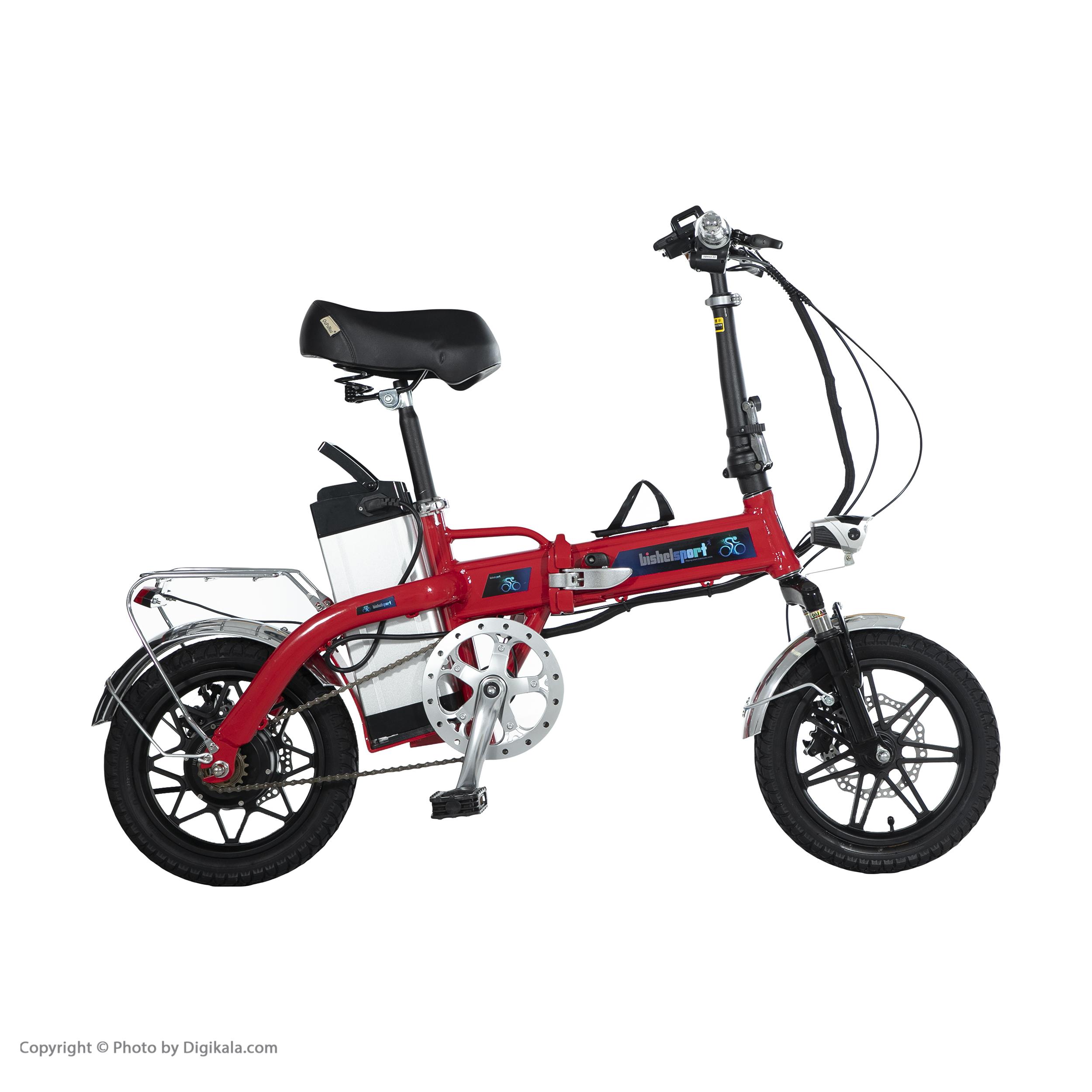دوچرخه برقی بیشل اسپرت مدل YK-D8 کد 02 سایز 14