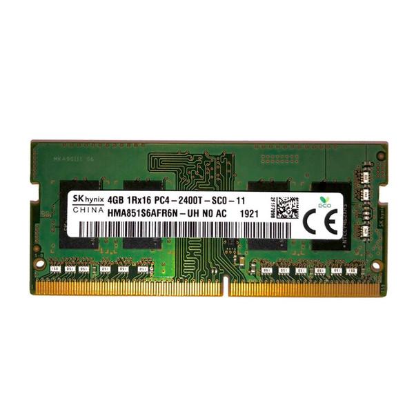 رم لپ تاپ DDR4 تک کاناله 2400 مگاهرتز CL19 اس کی هاینیکس مدل SODIMM ظرفیت 4 گیگابایت
