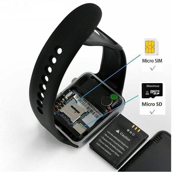 ساعت هوشمند مدل A1 به همراه محافظ صفحه نمایش نانو پلاس