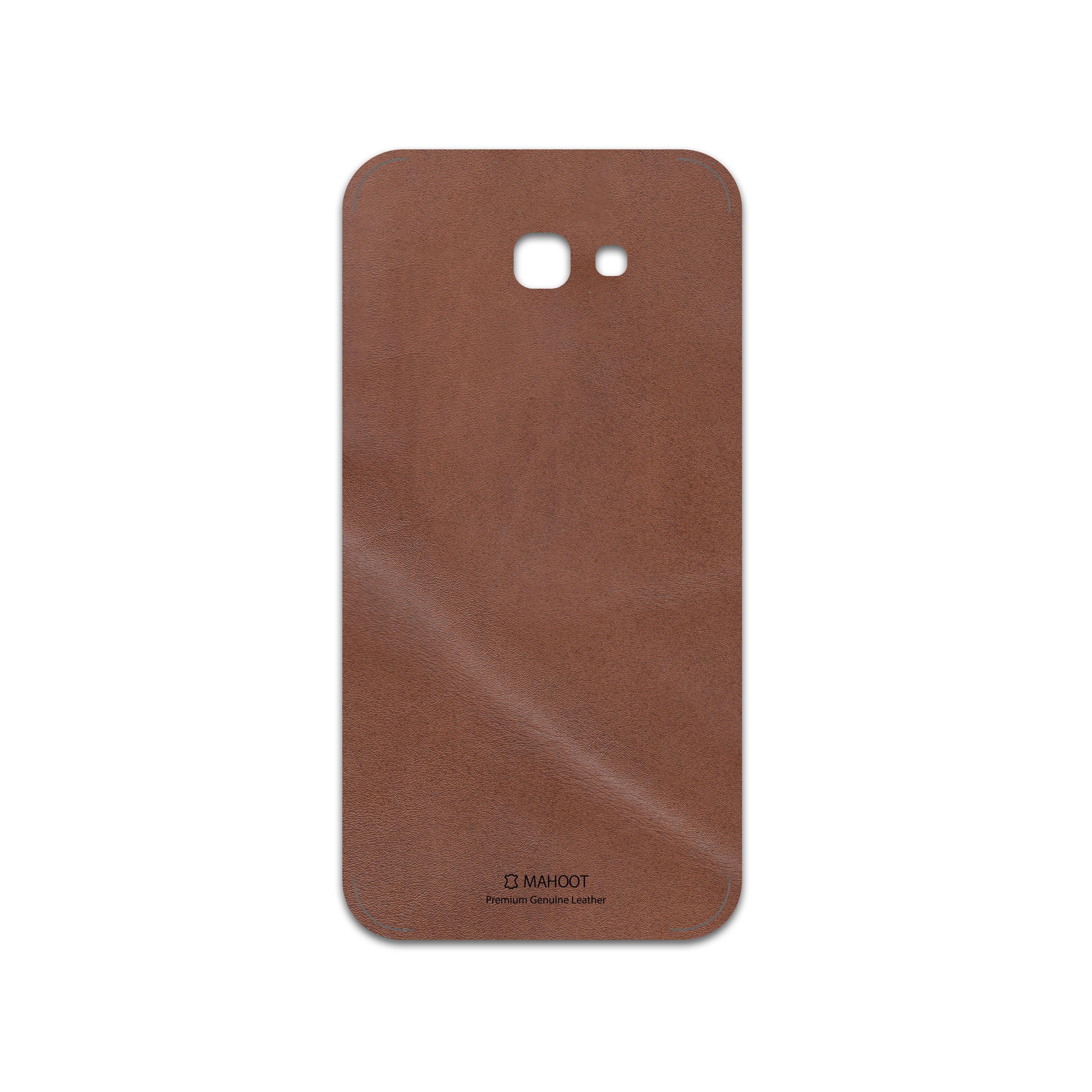 برچسب پوششی ماهوت مدل Matte-Natural-Leather مناسب برای گوشی موبایل سامسونگ Galaxy A7 2017