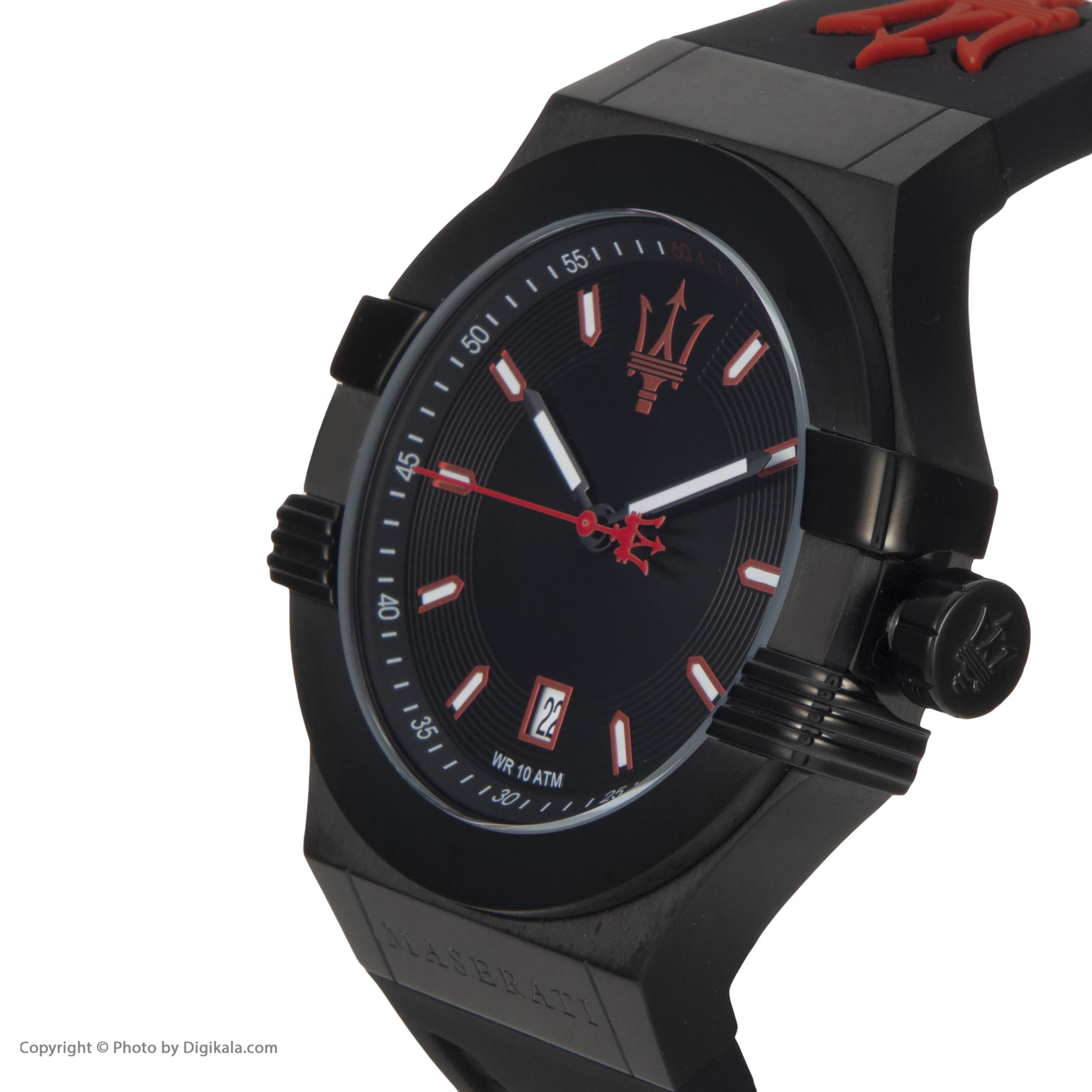 خرید                      ساعت مچی عقربه ای مردانه مازراتی مدل R8851108020