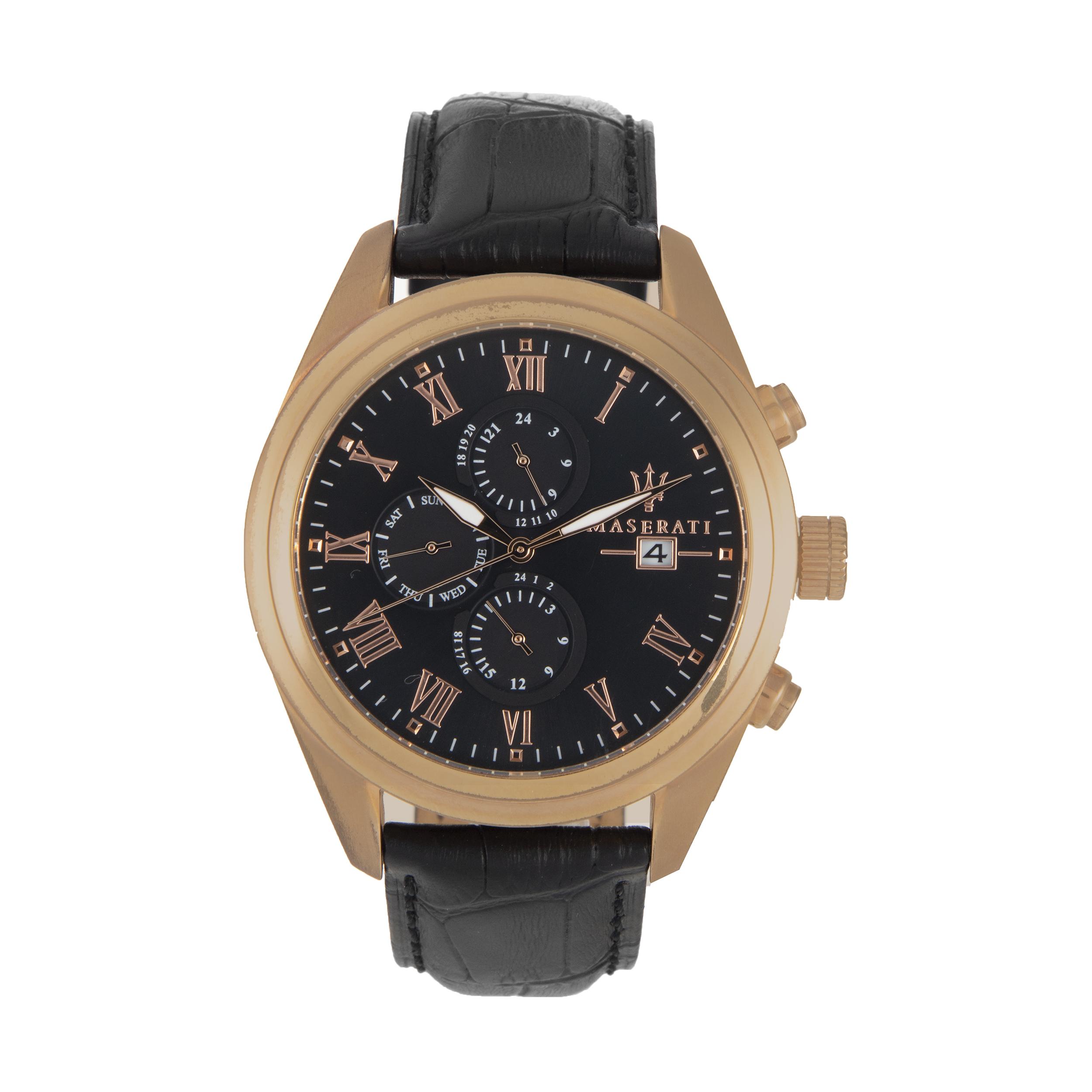 ساعت مچی عقربه ای مردانه مازراتی مدل R8871612002