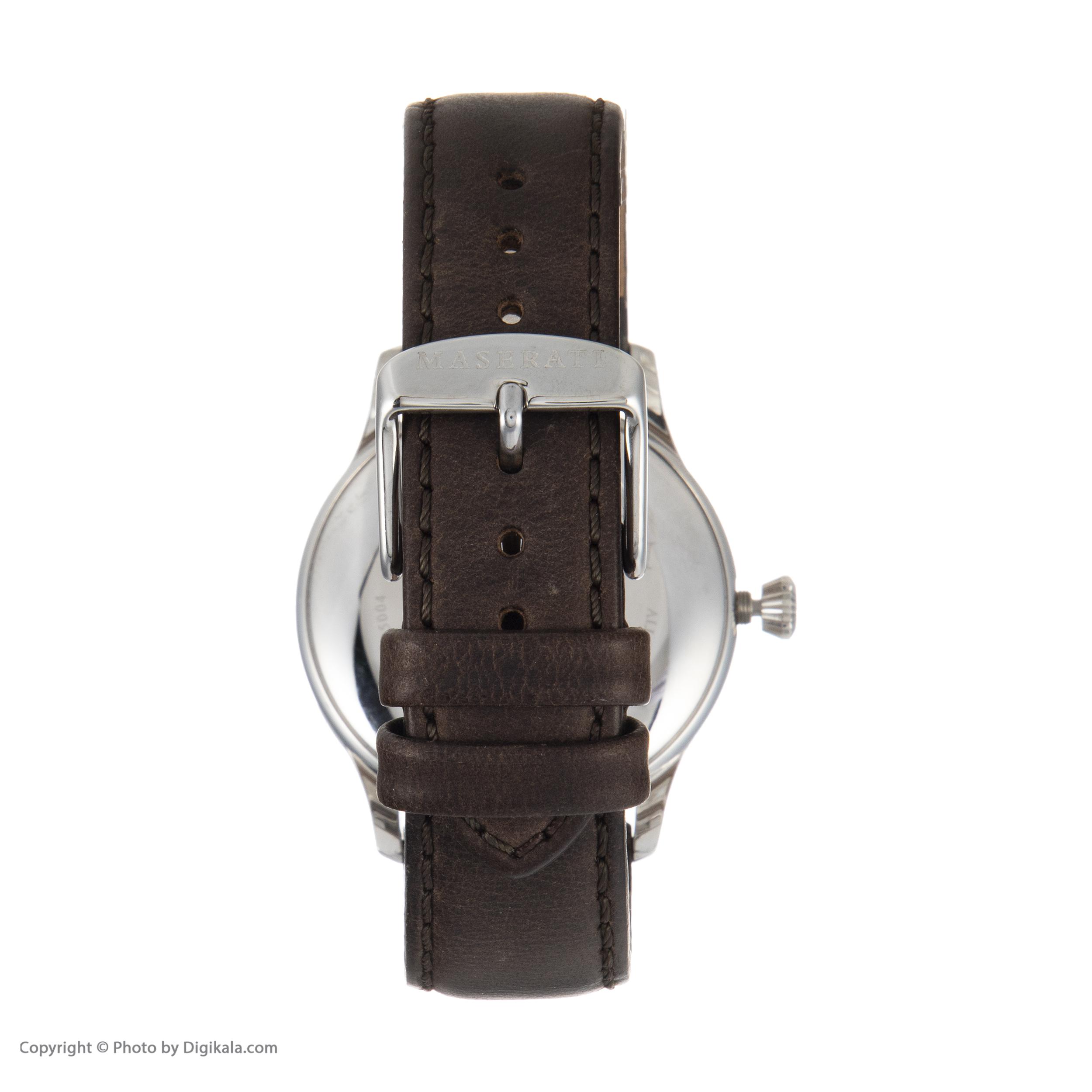 ساعت مچی عقربه ای مردانه مازراتی مدل R8851125004