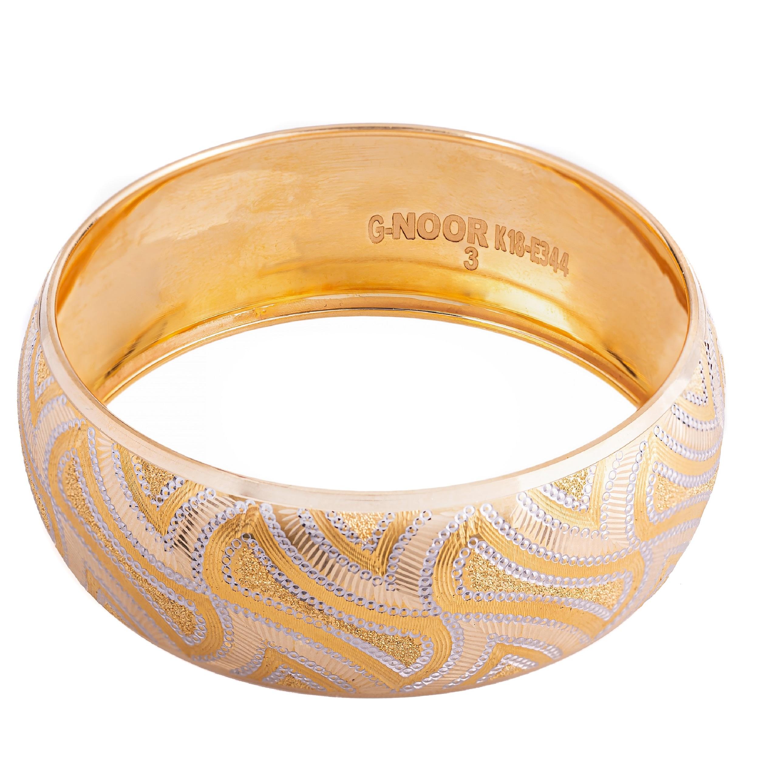 النگو طلا 18 عیار زنانه کد AL01G-4