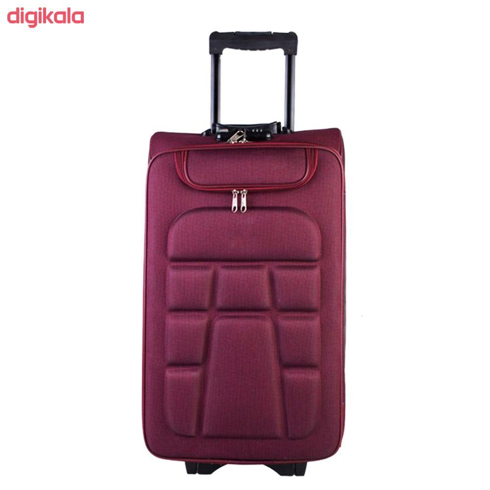 چمدان مدل لاک پشتی مدل 111 main 1 4