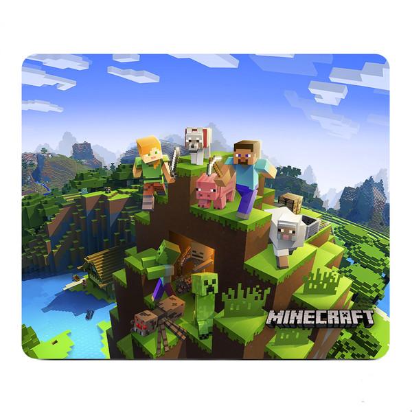 ماوس پد مدل S11 طرح بازی Minecraft