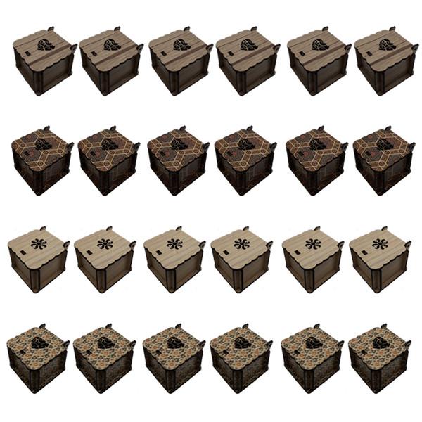 جعبه انگشتر کد JJ012 مجموعه 24 عددی
