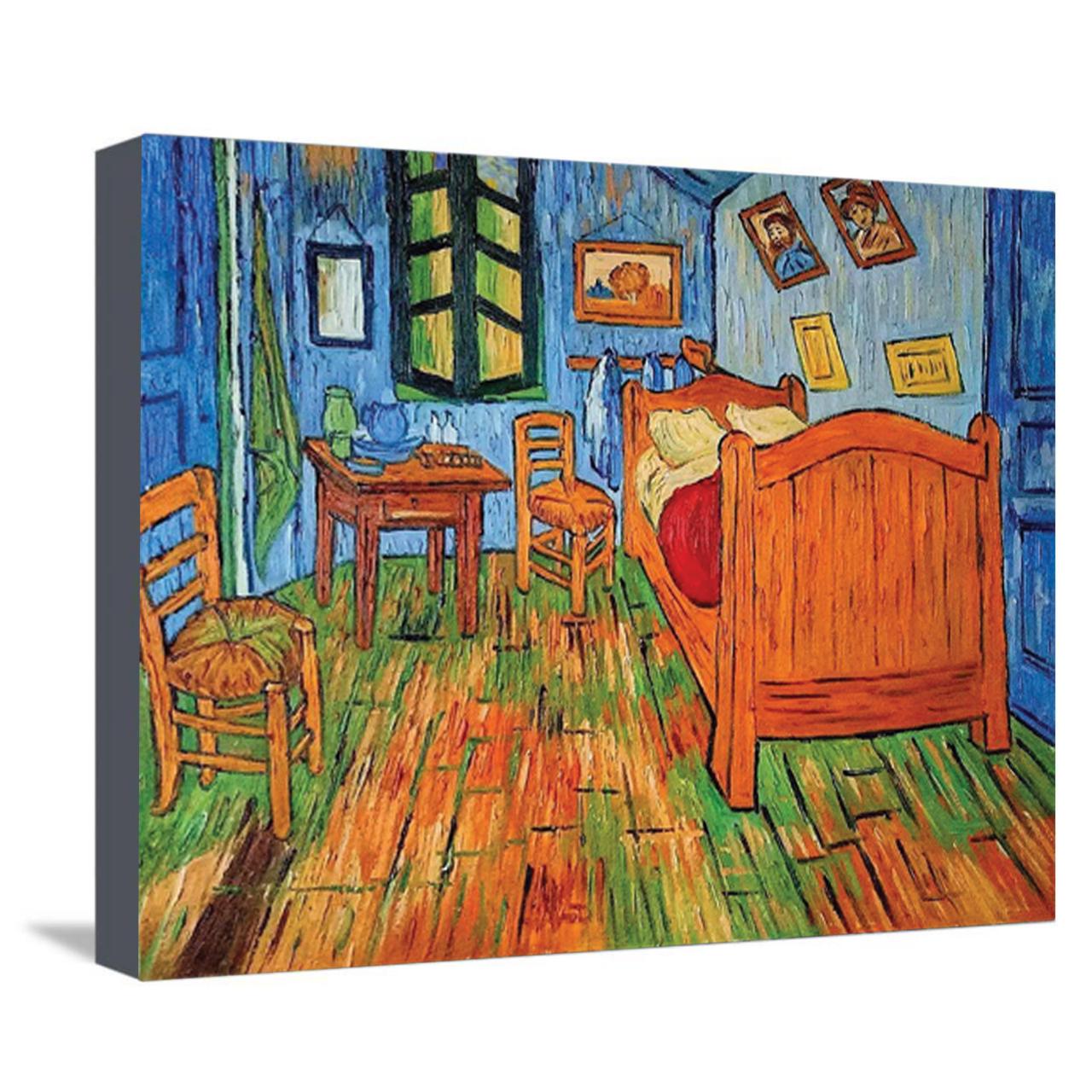 خرید                      تابلو نقاشی طرح اتاق خواب آرل ونگوگ کد 1034