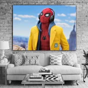 تابلو شاسی طرح مرد عنکبوتی مدل 5
