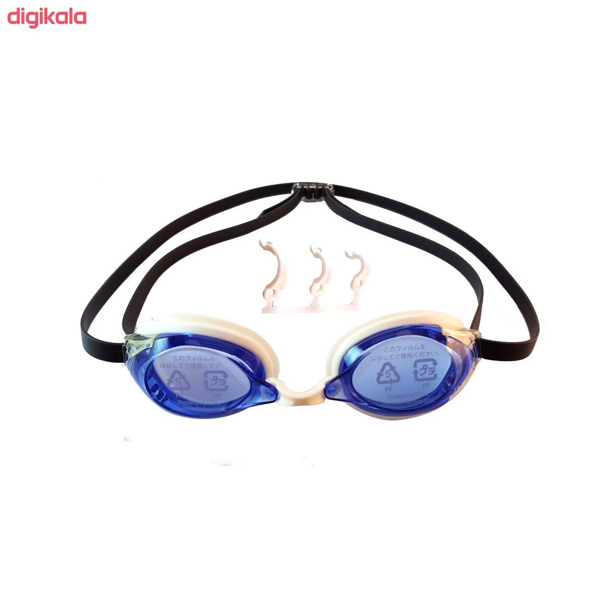 عینک شنا سوانز مدل SR-2N-BL main 1 1