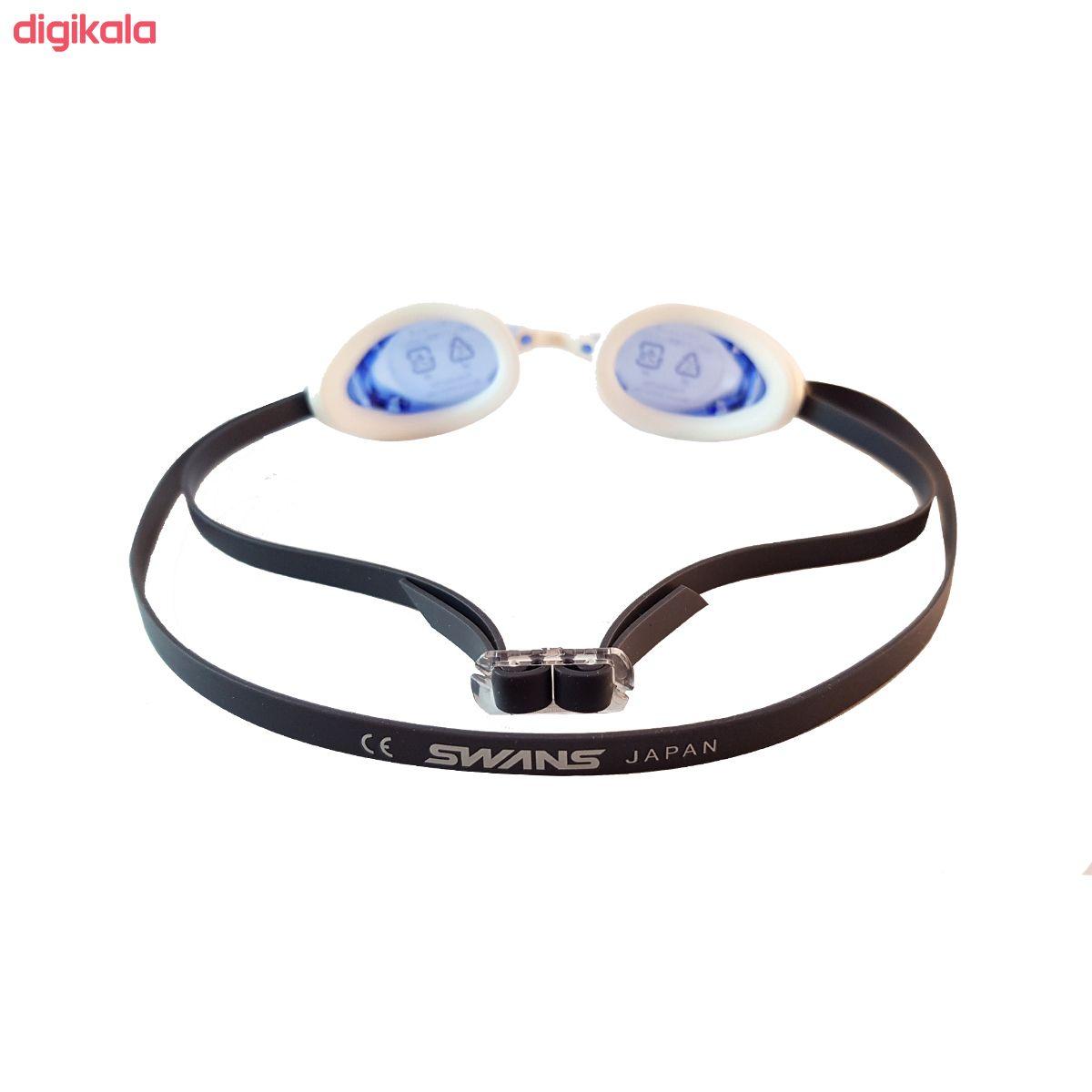 عینک شنا سوانز مدل SR-2N-BL main 1 2