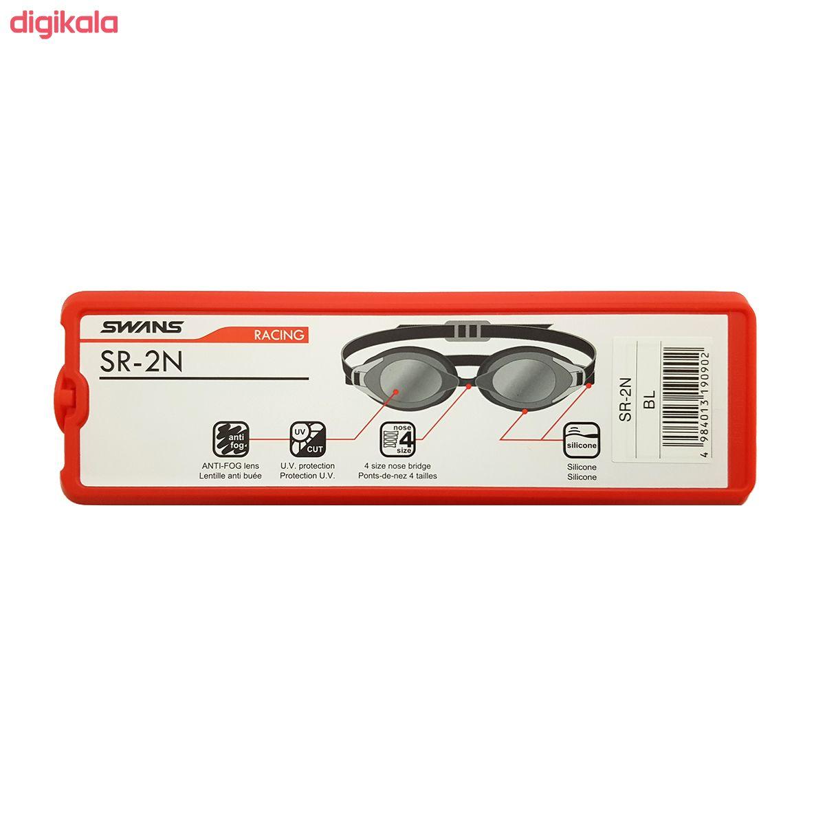 عینک شنا سوانز مدل SR-2N-BL main 1 3