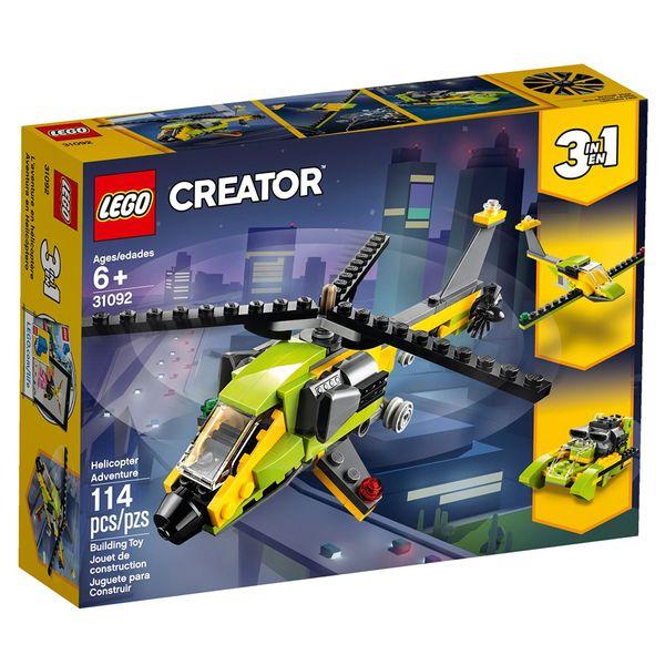 لگو سری Creator مدل Helicopter Adventure 31092