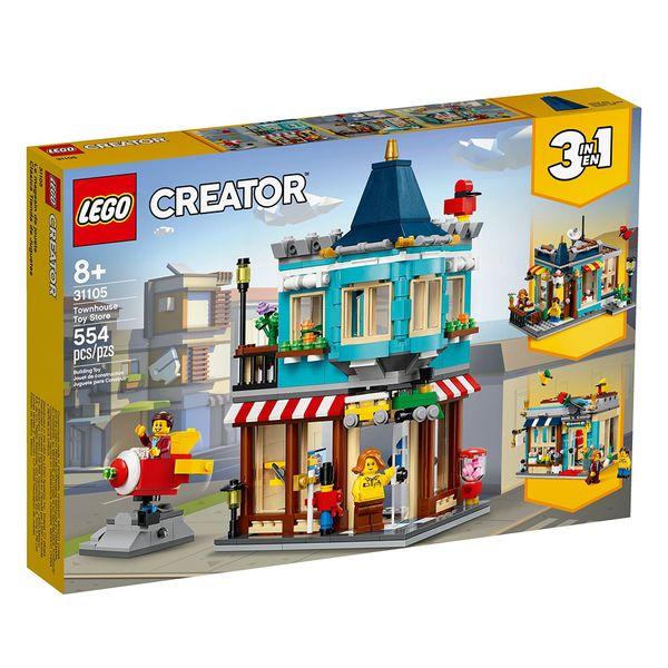 لگو سری Creator مدل Townhouse Toy Store 31105
