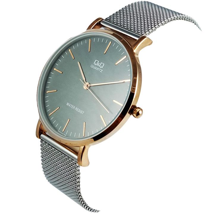 کد تخفیف                                      ساعت مچی عقربه ای مردانه کیو اند کیو مدل qa20j412y