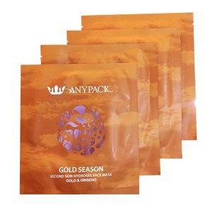 ماسک صورت آنیپک مدل Gold Season حجم 27 میلی لیتر بسته 4 عددی