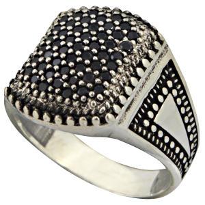 انگشتر نقره مردانه کد a9