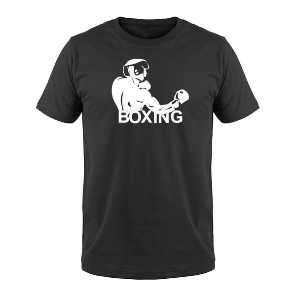 تی شرت مردانه   طرح ورزش بوکس   کد b3