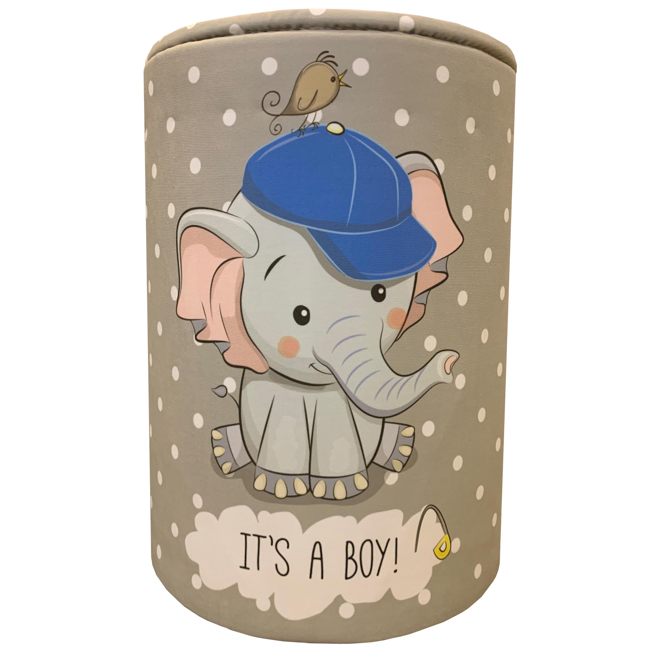 جعبه اسباب بازی کودک طرح فیل