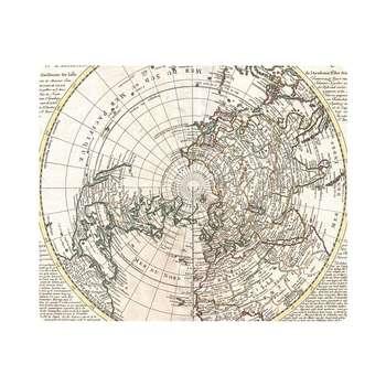 ماوس پد طرح نقشه جهان مدل MP1663