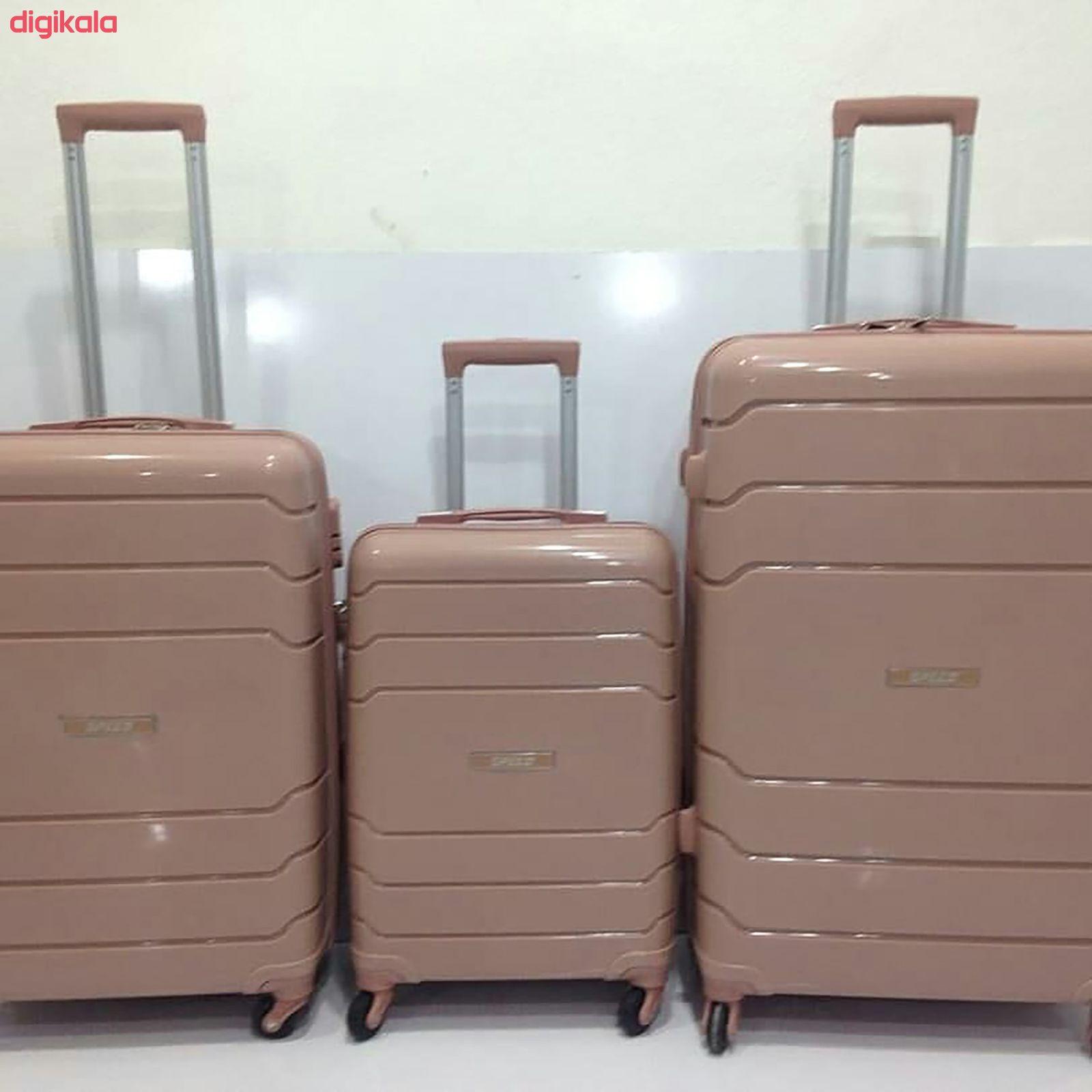 مجموعه سه عددی چمدان اسپید کد B016 main 1 10