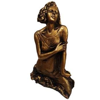 مجسمه لیلپار طرح دختر تنها مدل DKA-6049