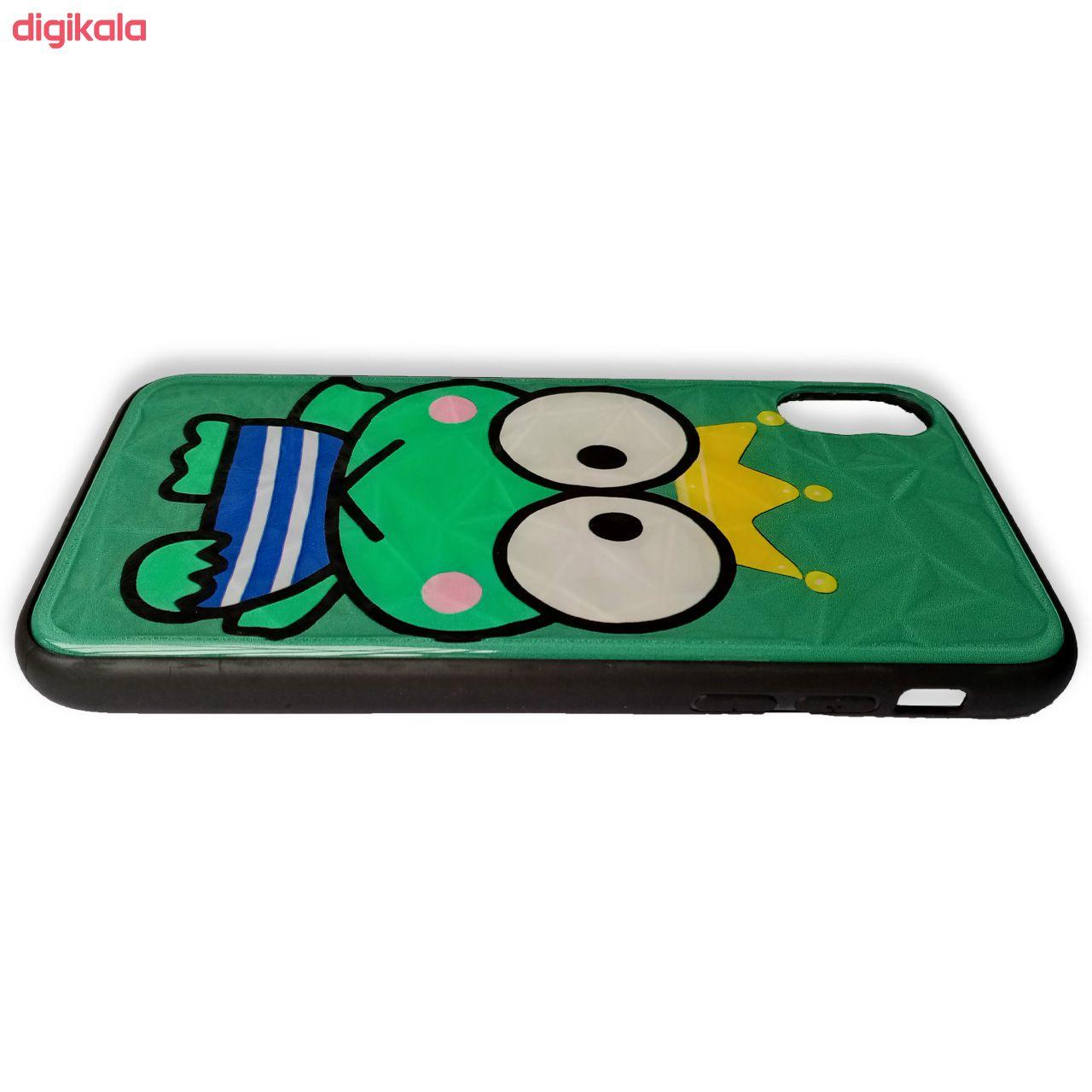 خرید اینترنتی با تخفیف ویژه کاور طرح Princess Frog مدل N11 مناسب برای گوشی موبایل اپل iphone X / Xs