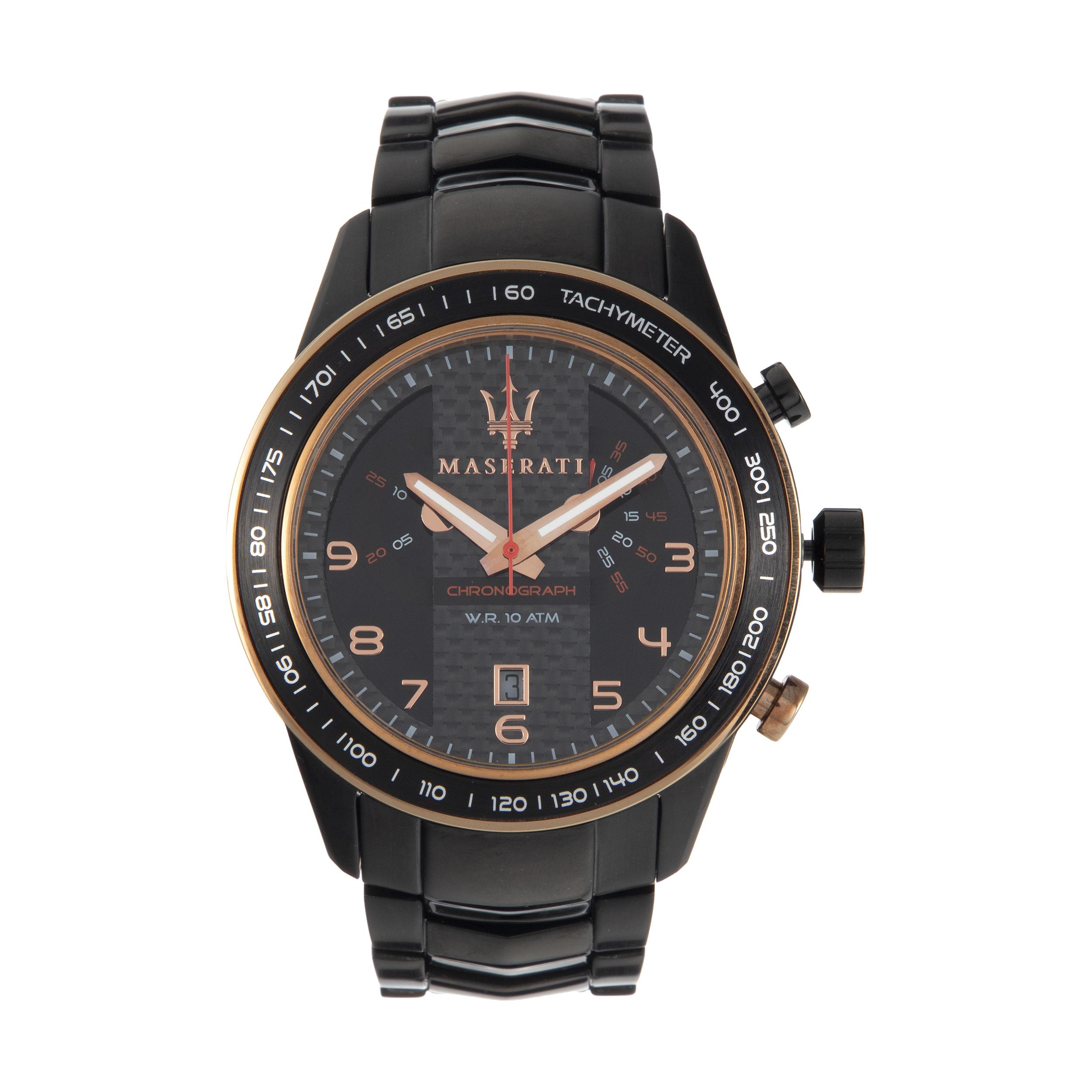ساعت مچی عقربه ای مردانه مازراتی مدل R8873610002