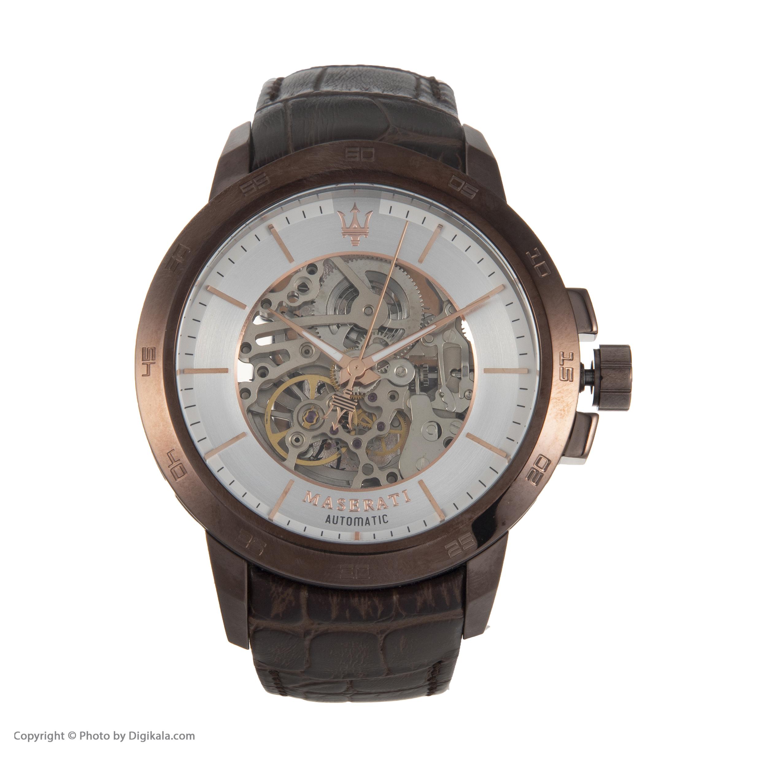 خرید                      ساعت مچی عقربه ای مردانه مازراتی مدل R8821119003