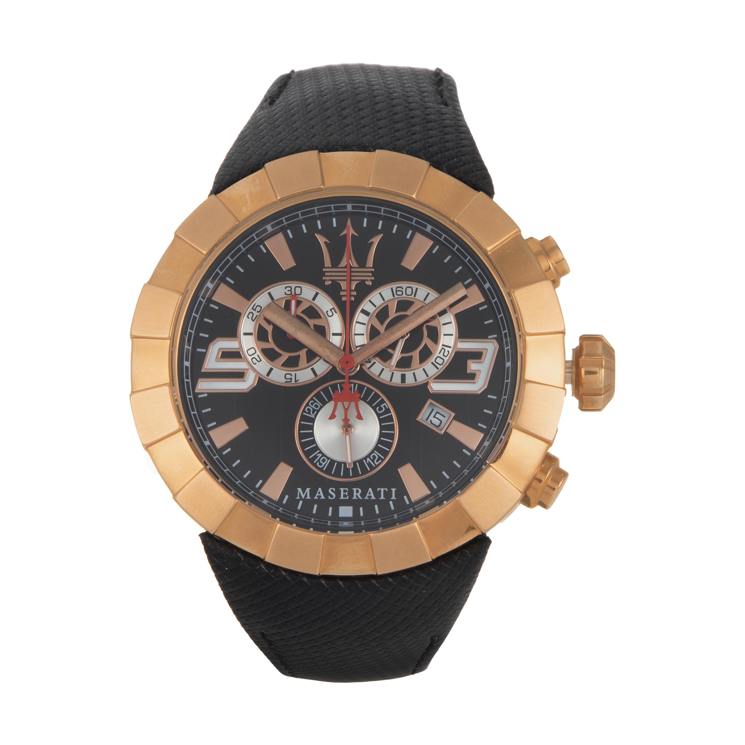 ساعت مچی عقربه ای مردانه مازراتی مدل R8871603002
