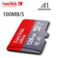 کارت حافظه microSDXC سن دیسک مدل Ultra A1 کلاس 10 استاندارد UHS-I U1  سرعت 100MBps ظرفیت 128 گیگابایت  thumb 6