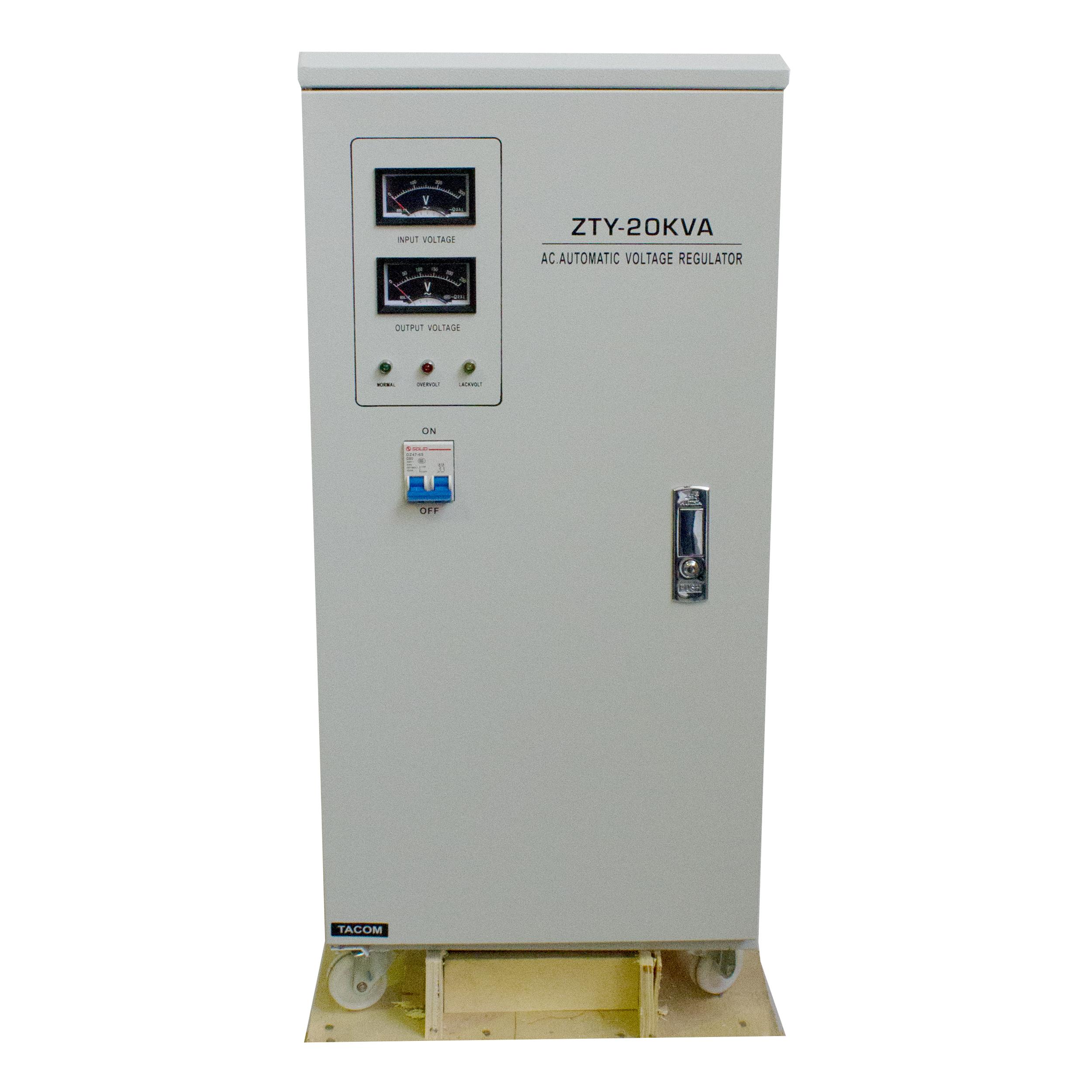 استابیلایزر  تکام مدل ZAGROS-20KVA ظرفیت 20000VA