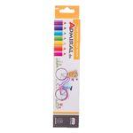مداد رنگی 6 رنگ آدمیرال مدل MDF