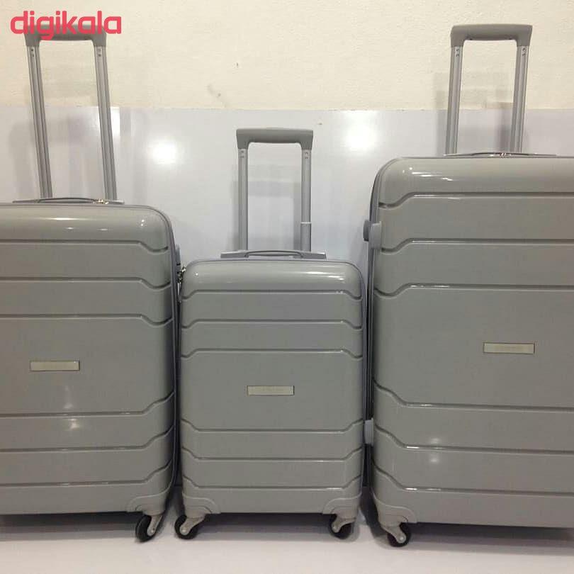 مجموعه سه عددی چمدان اسپید کد B016 main 1 12