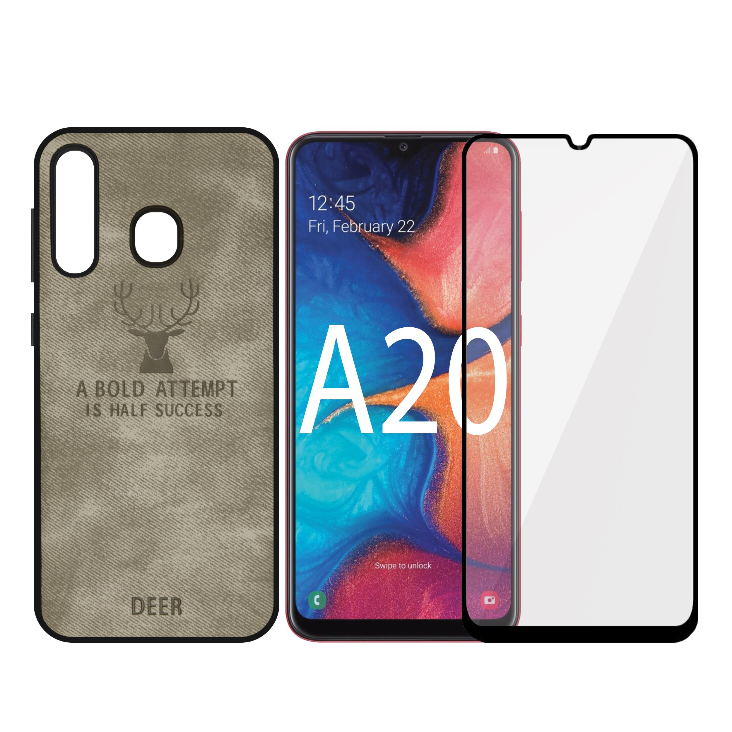 کاور سومگ مدل SMG-CG مناسب برای گوشی موبایل سامسونگ Galaxy A20 به همراه محافظ صفحه نمایش              ( قیمت و خرید)