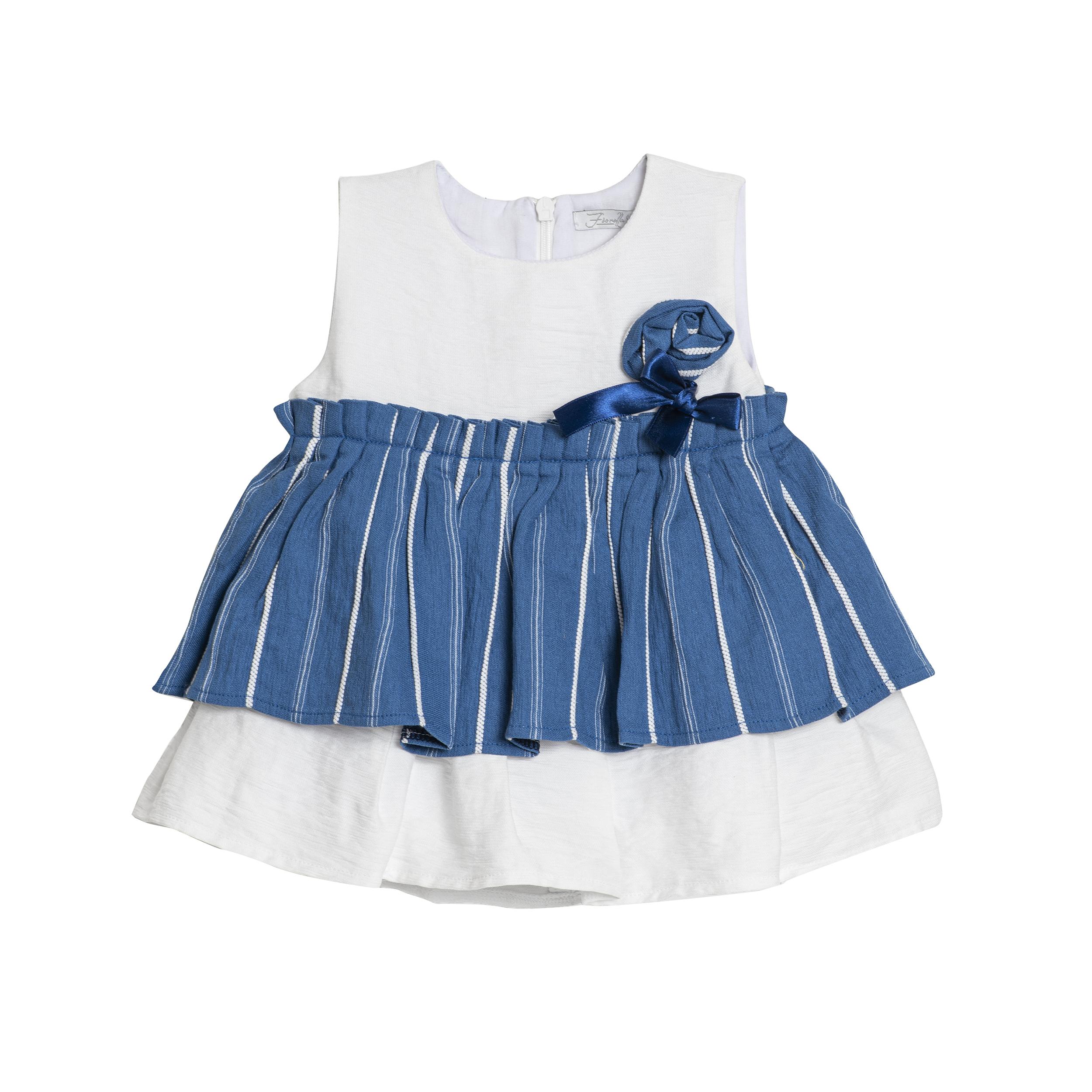پیراهن نوازدی دخترانه فیورلا کد 2067