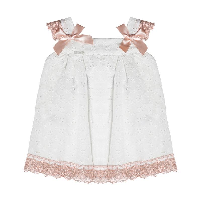 پیراهن نوزادی دخترانه فیورلا کد 2078