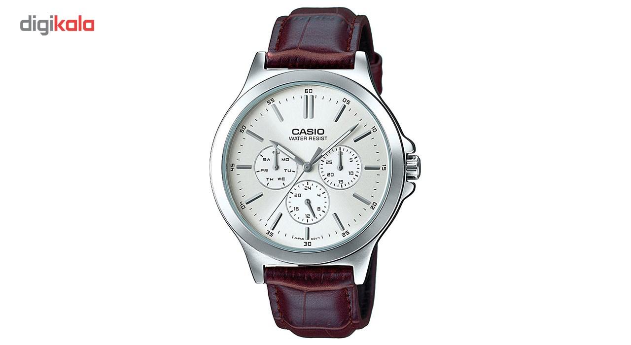 خرید ساعت مچی عقربه ای مردانه کاسیو مدل MTP-V300L-7AUDF | ساعت مچی