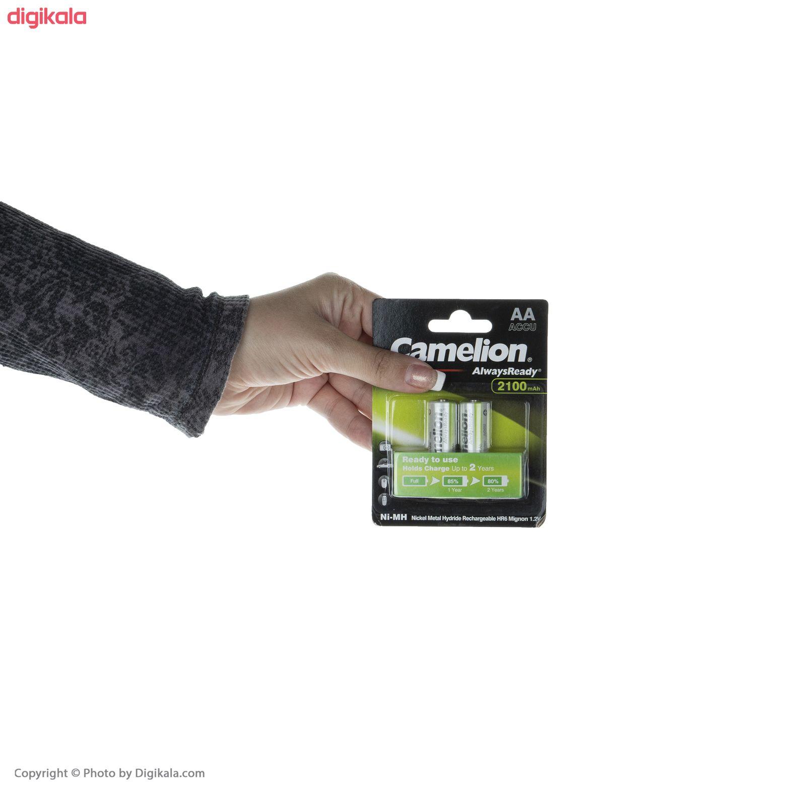 باتری قلمی قابل شارژ کملیون مدل AlwaysReady New Version با ظرفیت 2100 میلی آمپر ساعت بسته 2 عددی main 1 3
