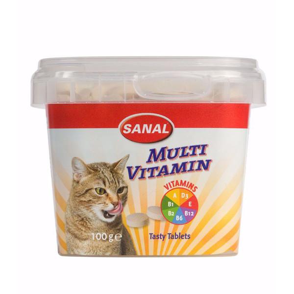 مکمل غذایی گربه سانال مدل  Multi Vitamin cup وزن 100 گرم