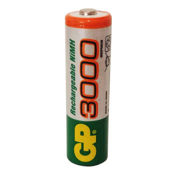 باتری قلمی قابل شارژ جی پی مدل 3000